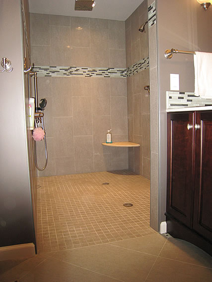 Tile Shower Pans